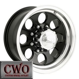 15 Black ION 171 Wheels Rims 5x139.7 5 Lug Dodge Ram Dakota Durango