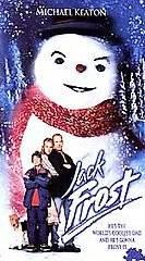 Jack Frost (VHS, 1999, Warner Bros.) Michael Keaton, Kelly Preston