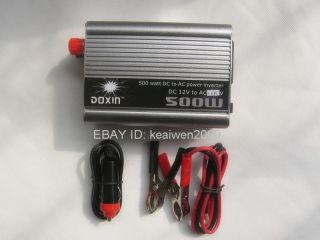 500W inverter DC 12V to AC 110V for solar power system solar panel