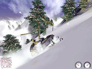 Ski Doo X Team Racing PC, 2001