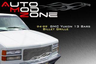 94 99 GMC Yukon C/K Sierra Pickup Billet Grille 98 97