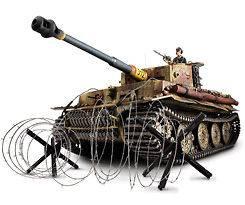 16 FORCES OF VALOR #85104 TIGER I 505 PZ. ABT. POLAND 1944 ENTHUSIAST