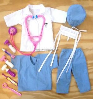 Newly listed Doll Clothes fits AMERICAN GIRL NURSE OUTFIT +++ SCRUBS