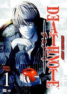 Death Note   Vol. 1 DVD, 2007, Uncut