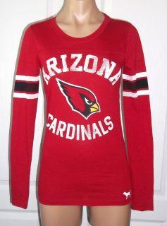 Victorias Secret Pink NFL Arizona Cardinals Graphic Pullover Shirt