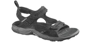 Merrell Mens Terrapin Sport Black Strap Sandals Outdoor Shoes