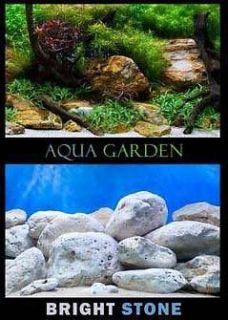72 x 24 Aquatic Plant Garden/Stone Aquarium Background