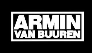 Armin Van Buuren Logo Label Car Window Truck Laptop Sticker Decal 5 x