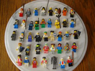 41 PCS LEGO MINI FIGURES ASSORTED STAR WARS KNIGHTS MINI FIGS PEOPLE