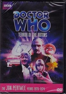 DOCTOR WHO TERROR OF THE AUTONS, JON PERTWEE, DVD, NEW