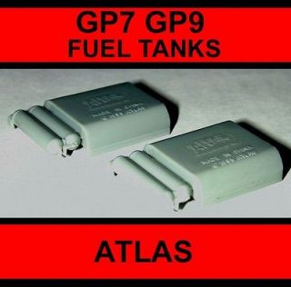 Newly listed N GP7 GP9 FUEL TANKS WITH AIRTANKS (2) ATLAS N SCALE