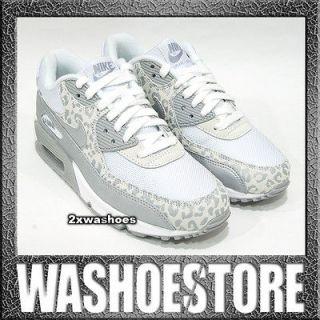 Nike Wmns Air Max 90 White Silver Wolf Grey Metallic 325213 121 US 6