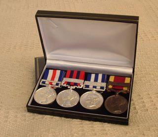 medals/ ribbons display case