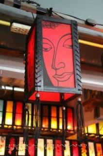 Buddha Asian Oriental Handicraft Pendant Lamp lights