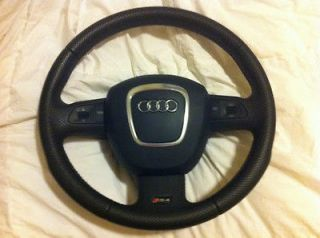 2008 spec AUDI RS4 MULTIFUNCTION STEERING WHEEL with AIRBAG, COMPLETE