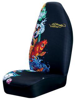 Ed Hardy Koi Seat Cover  Universal Bucket