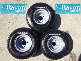 Golf Cart Wheels and Tires will fit Club Car EZGO Yamaha 18 X 8.50 80