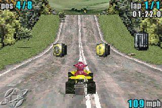 ATV Quad Power Racing Nintendo Game Boy Advance, 2002