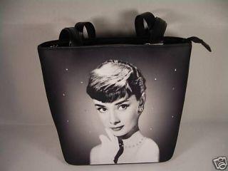 Audrey Hepburn Rare Breakfast at Tiffanys Bag Tote Purse Handbag