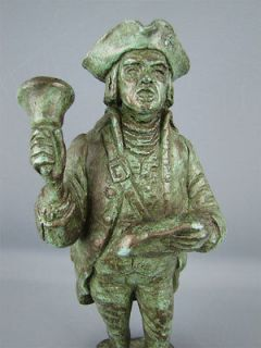 Vintage 1964 Tall Statue Town Crier Austin Productions