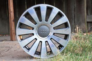 2003 2010 Audi A8 19 Wheel Rim 12 Spoke Polished & Charcoal Factory