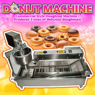AUTOMATIC DONUT DOUGHNUT MAKER MACHINE FACTORY DIRECT PRICING DHL