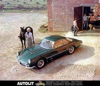 1962 Ferrari 400 Super America Pininfarina Coupe Automobile Photo