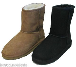 UGG Australia ~ Kids Classic Boots ~ Sizes 13 6 Chestnut Brown or