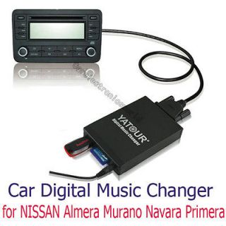 Car Digital CD Changer USB SD AUX Adapter Adaptor  Music Player for