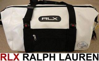 NEW Ralph Lauren RLX duffel NWT waterproof polo white ski overnight