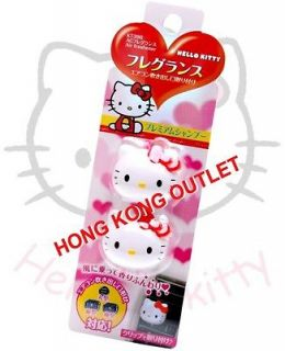 Hello Kitty Car Air Outlet Freshener fragrance KT396 Sanrio F37b