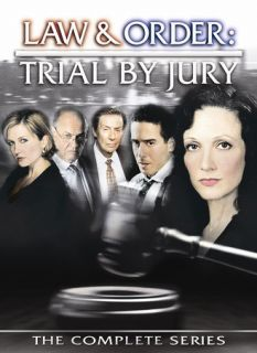 Law Order Trial by Jury   The Complete Series DVD, 2006, 3 Disc Set