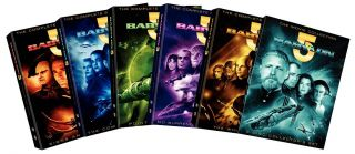 Babylon 5 The Complete Series with Movies DVD, 2011, 12 Disc Set