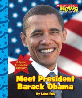 Meet President Barack Obama by Laine Falk 2009, Paperback