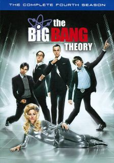 The Big Bang Theory The Complete Fourth Season DVD, 2011, 3 Disc Set