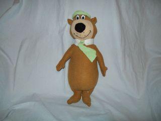14 Toy Factory Hanna Barbera Yogi Bear Green Hat Soft Toy Plush