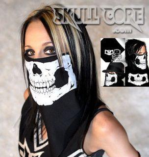 SKULL MASK BANDANA   Girls Skull Bandana   Mens Skull Bandana