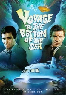 Voyage to the Bottom of the Sea Season 4, Vol. 2 DVD, 2011, 3 Disc Set