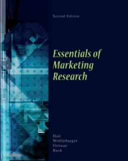Essentials of Marketing Research by Joseph F., Jr. Hair, David J