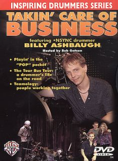 Takin Care of Business   Drummer Billy Ashbaugh DVD, 2002