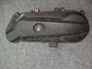 2009 SYM MIO 50cc Scooter CVT Kickstart Gear Cover Assembly @ Moped
