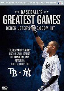 MLB Baseballs Greatest Games   Derek Jeters 3, 000th Hit DVD, 2011