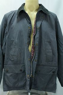 VTG Barbour Bedale Wax Motorcycle Biker Work Jacket Made In England
