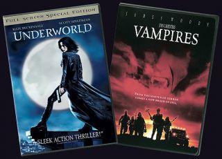 Underworld John Carpenters Vampires 2 Pack DVD, 2004, 2 Disc Set