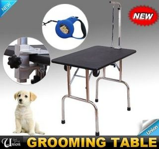 Newly listed New Portable Pet Dog Folding Grooming Table With Free