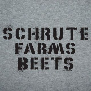 Dwight Schrute Farms Beets The Office Shirt funny L