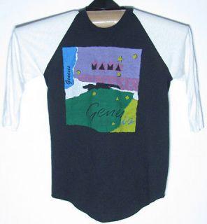 Original Vintage 1983 1984 Genesis MAMA Concert Tour Shirt Asia Yes