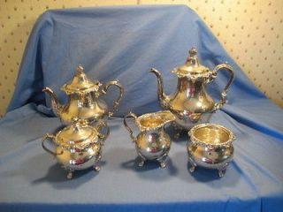 sterling silver tea service in Tea/Coffee Pots & Sets