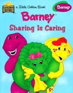 Barney  Sharing is Caring by Mark S. Bernthal (1999, Hardcover)