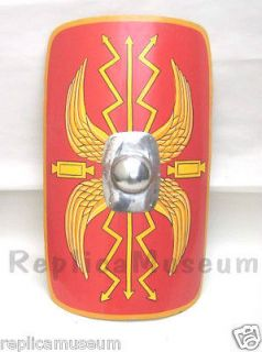 MEDIEVAL ROMAN ARMOR SHIELD REPLICA USED FOR BODY PROTECTION FROM